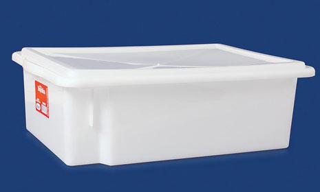 CAIXA PLAST EMP C/TPA 0430 41X29X13 11L PLEION